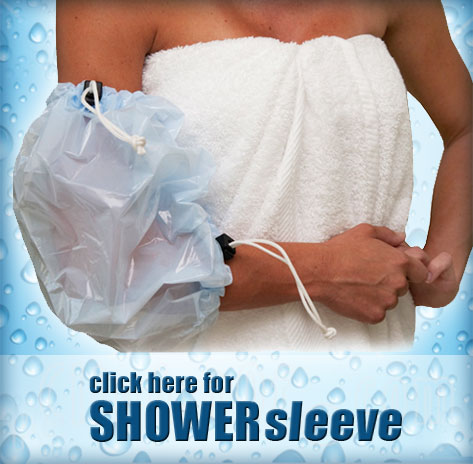 Click here for Shower Sleeve